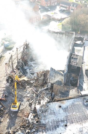 Emergency Demolition - Speedibake, Wakefield