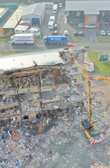 Village Bakery, Wrexham - Fire Damaged Bakery